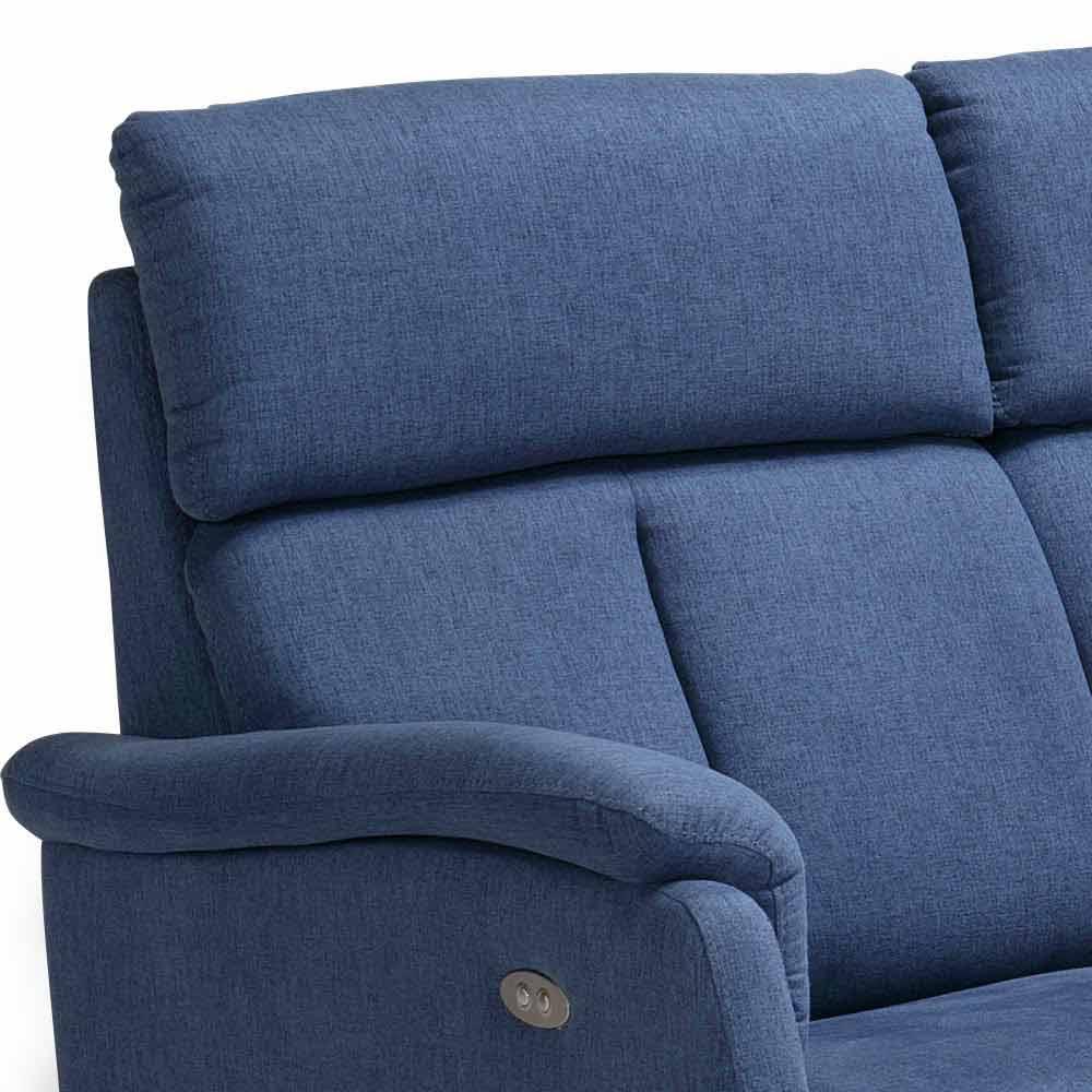 Zweisitzer-Sofa modernes Design aus Leder/Kunstleder ...