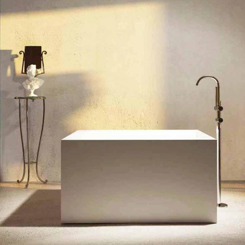 Design Badewanne Freestanding In Einer Quadratischeform