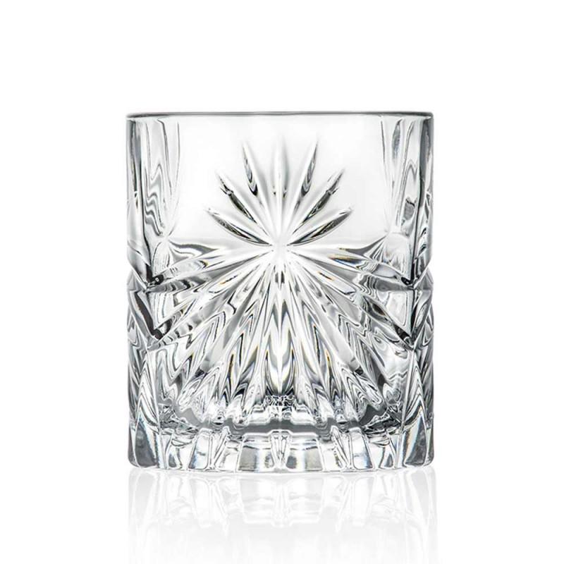 12 doppelte altmodische Bechergläser im Öko-Kristall-Design - Daniele