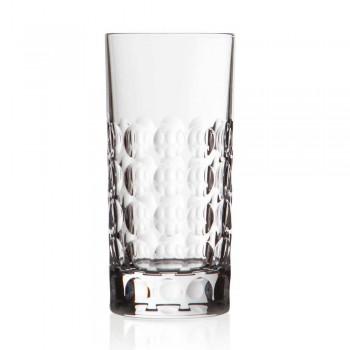 12 Highball-Gläser für alkoholfreie oder lange Getränke in Eco Crystal - Titanioball