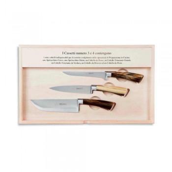 14 Messer Komplette Berti-Hülle exklusiv für Viadurini - Canaletto