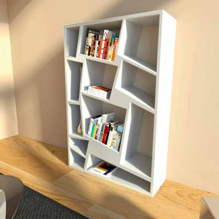 Design Bücherregal grün, rot oder weiß Christie