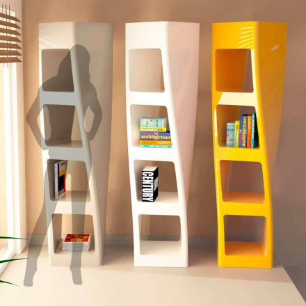 Bücherregal aus Solid Surface® in modernem Design Collins