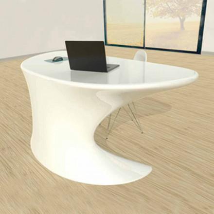Schreibtisch Büro modern weiß blau oder grau