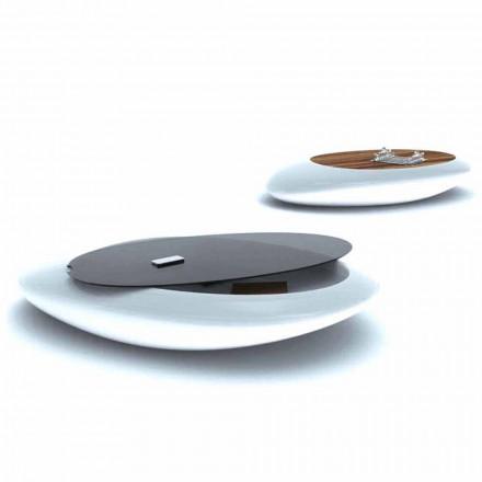 Beistelltisch in modernem Design Drop Made in Italy