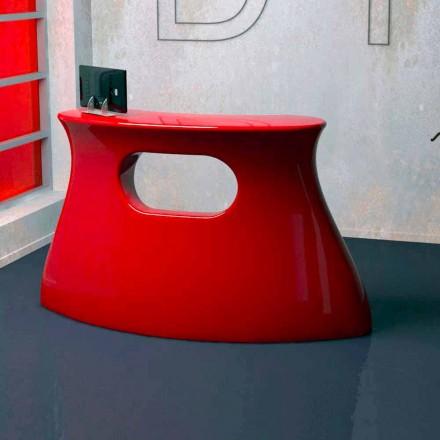 Tisch Desk Empfang Bob Made in Italy