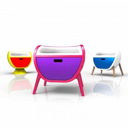 Nachttisch in modernem Design Gauche Made in Italy