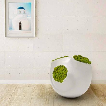 Dekorative Vase in modernem Design Luna Made in italy