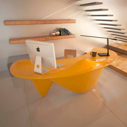 Moderner Schreibtisch handmade aus Italien Sinuous