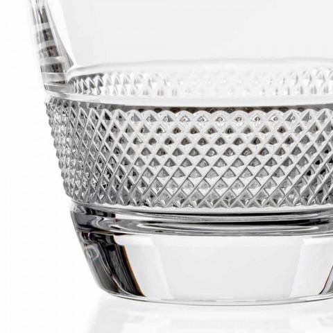 2 Whiskyflaschen im ökologischen Kristall Elegantes Design - Milito