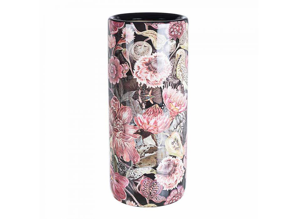 2 Porzellan Schirmständer mit Homemotion Flower Decal - Jolly
