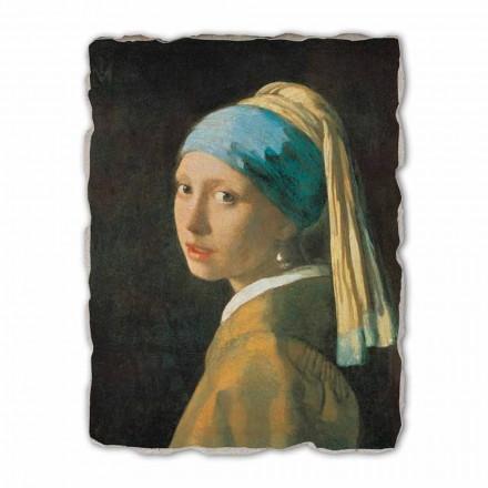 Fresko Vermeer Das Mädchen mit dem Perlenohrgehänge