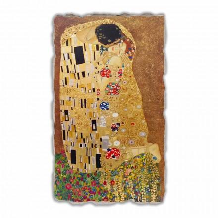 Fresko handgemacht Gustav Klimt der Kuss