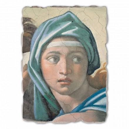 Großes Fresko Michelangelo die delphische Sybille