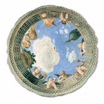 Großes Fresko Andrea Mantegna das Auge