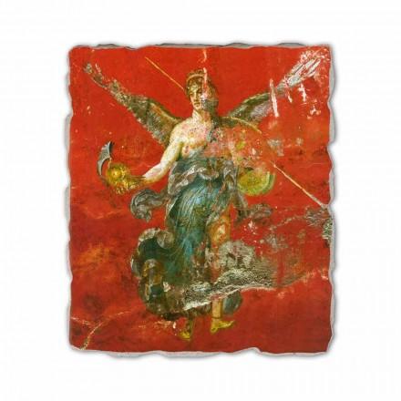 Fresko Pompeji der Musenzyklus