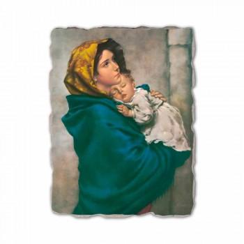 """Fresko Reproduktion handgemachte Ferruzzi """"Our Lady of Rest"""""""