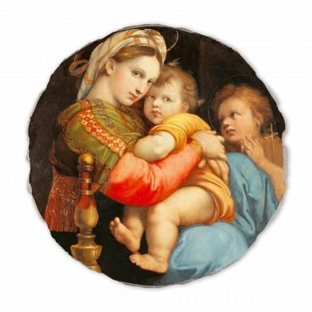 Fresko Raffaello Sanzio Die Madonna von dem Stuhl