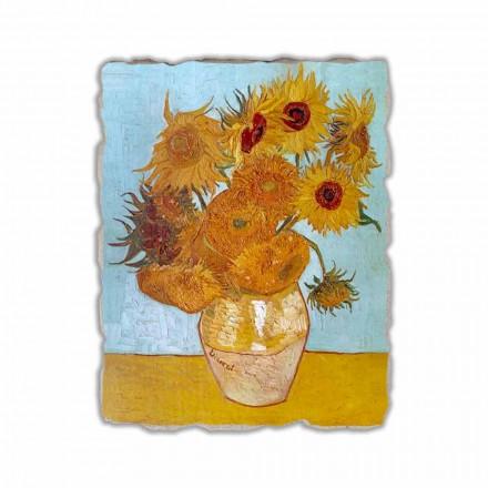 Fresko Vincent van Gogh Zwölf Sonnenblumen in einer Vase