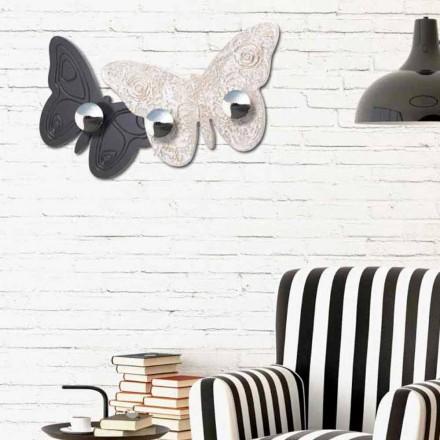 Wand Kleiderständer in modernem Design Melitea Viadurini Decor