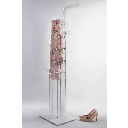 Moderner Kleiderbügel aus Acrylglas, Elva