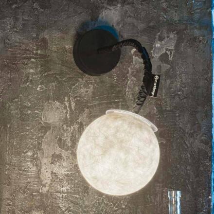 Moderne Wandleuchte In-es.artdesign Micro Luna Nebulite Wandleuchte