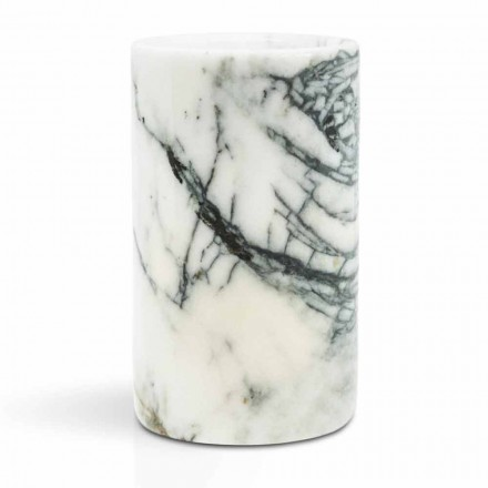 Glaszahnbürstenhalter aus Paonazzo-Marmor Made in Italy - Limba