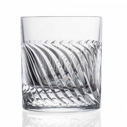 Luxus Eco Crystal DOF Design Whiskygläser 12 Stück - Arrhythmie