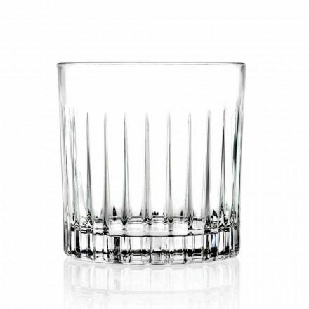Doppelte altmodische Tumbler Low Glasses 12 Stück Luxus - Senzatempo