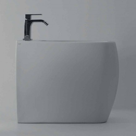 Modernes Design-Bidet aus weißer Keramik Gais, hergestellt in Italien