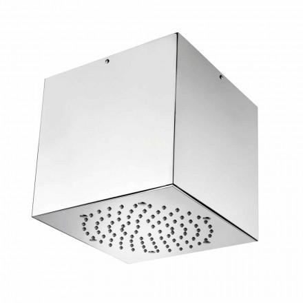 Bossini Cube Duschkopf aus Edelstahl in modernem Design