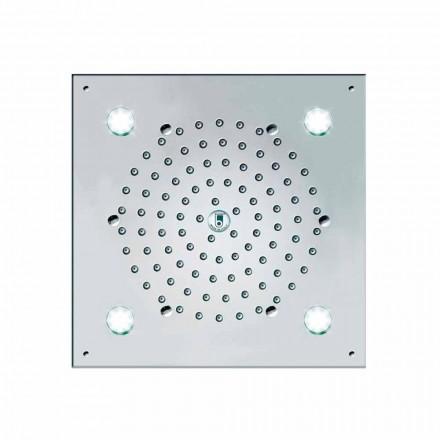 Duschbrause mit 4 LED Licher Bossini Cube-Light