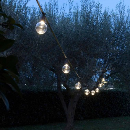 Neopren-Außenkabel mit 8 LED-Lampen inklusive Made in Italy - Party