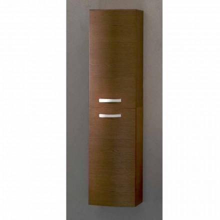 Gioia, 2-türiger Wandschrank aus Eichenholz, made in Italy