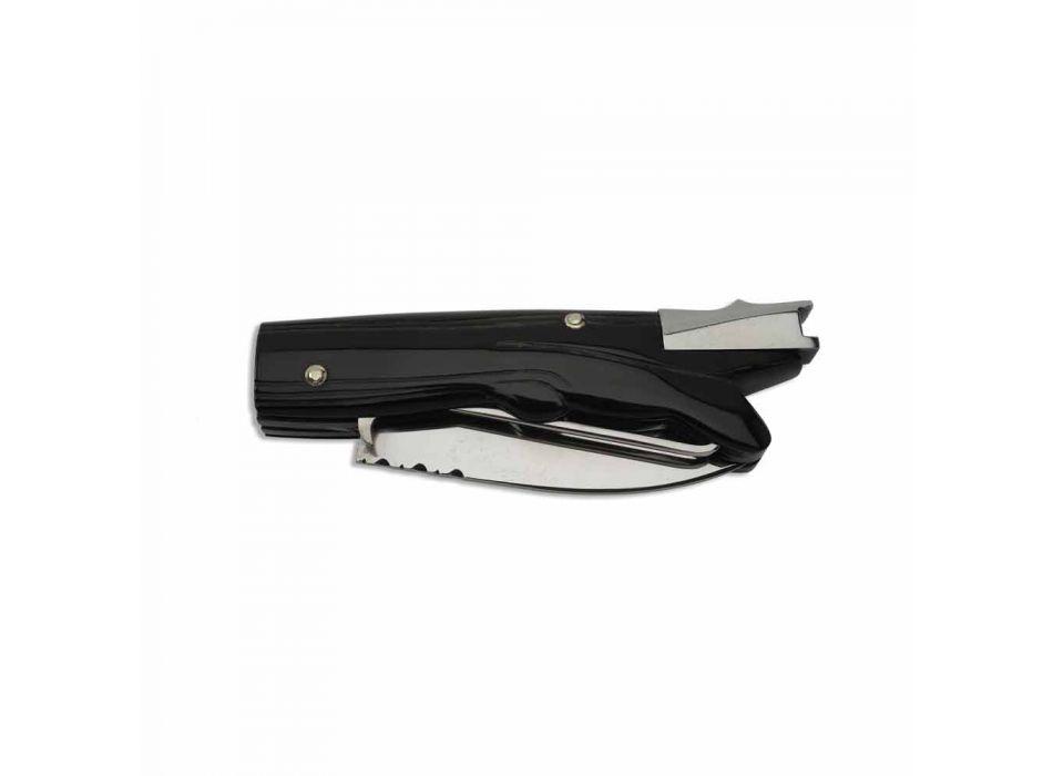 Antikes Jagdmesser mit Ochsenhorngriff Made in Italy - Antik