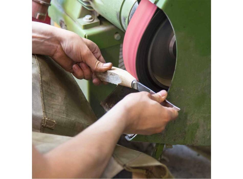 Ausbeinmesser mit Holzgriff oder Ochsenhorn Made in Italy - Posca