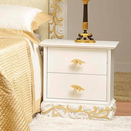 Schlafzimmer Nachtschrank im modern klassischen Stil Kush