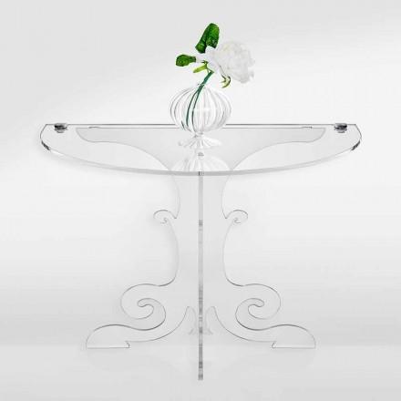 Nachttisch im klassischen Design aus Acrylglas und PMMA, Tiana