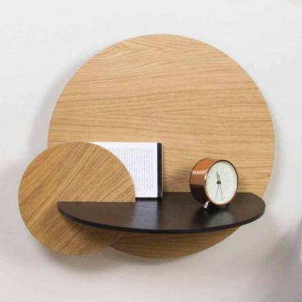Modularer Nachttisch Elegantes Design aus Sperrholz mit verstecktem Fach - Bigno