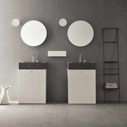 Bodenzusammensetzung von modernen Design-Badezimmermöbeln - Farart10
