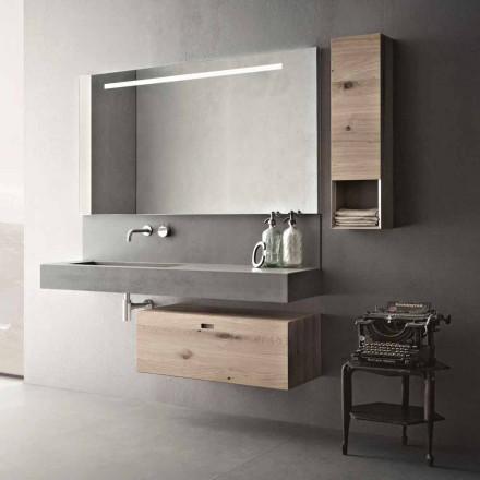 Design Zusammensetzung für Badezimmer Moderne Hängemöbel Made in Italy - Farart2