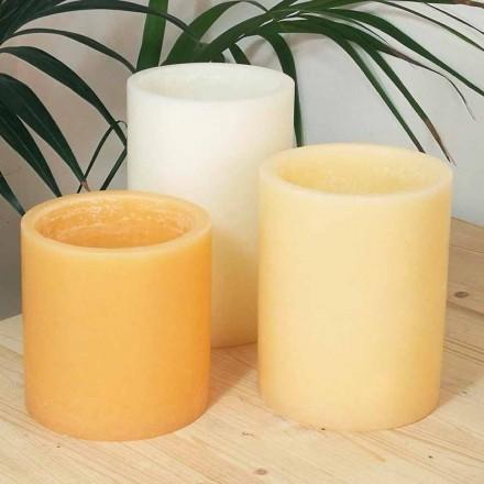 Zusammensetzung der duftenden Laternen mit Kerze Made in Italy 3 Stück - Terna