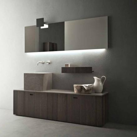 Grundlegende Badezimmermöbel-Zusammensetzung des modernen Designs - Farart1