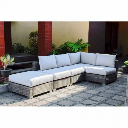 Outdoor Lounge Set in Rattan Optik handmade Rita  modernes Design