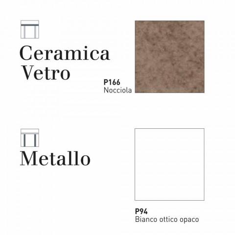 Ausziehbarer Keramiktisch Connubia Calligaris Baron, L130 / 190
