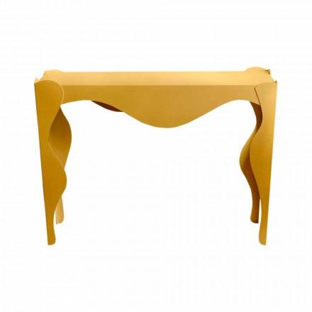 Modernes Design Wohnzimmer Konsole aus farbigem Eisen Made in Italy - Gertrude