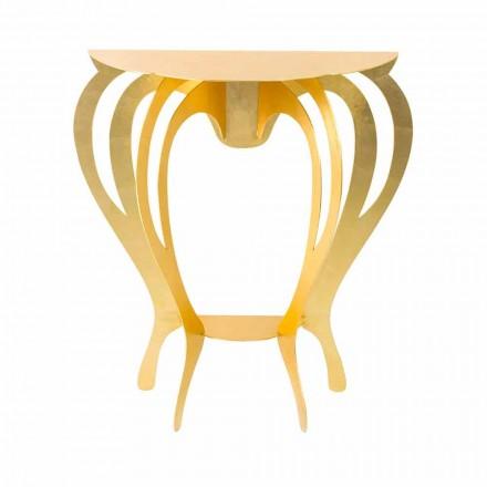Konsole aus farbigem Eisen in modernem Design Made in Italy - Barbata