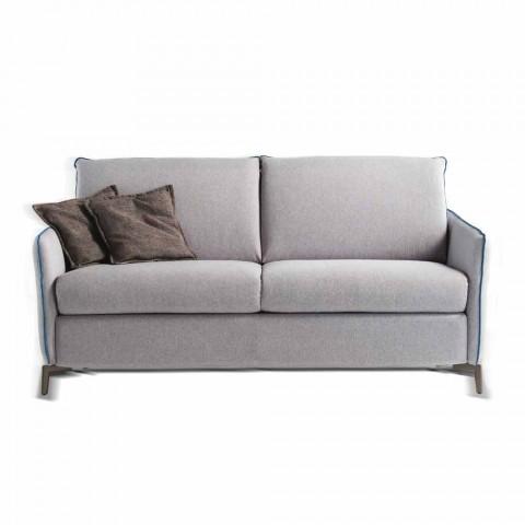 2-Sitzer Maxi L.165cm Kunstleder / Stoff in Italien Erica