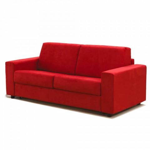 2-Sitzer-Sofa maxi moderne Kunstleder / Stoff in Italien Mora
