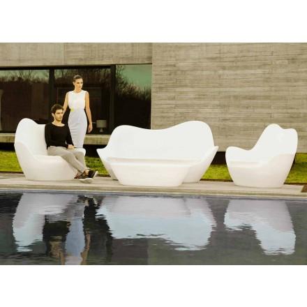 Modernes Outdoor-Sofa Sabinas von Vondom aus Polyethylen